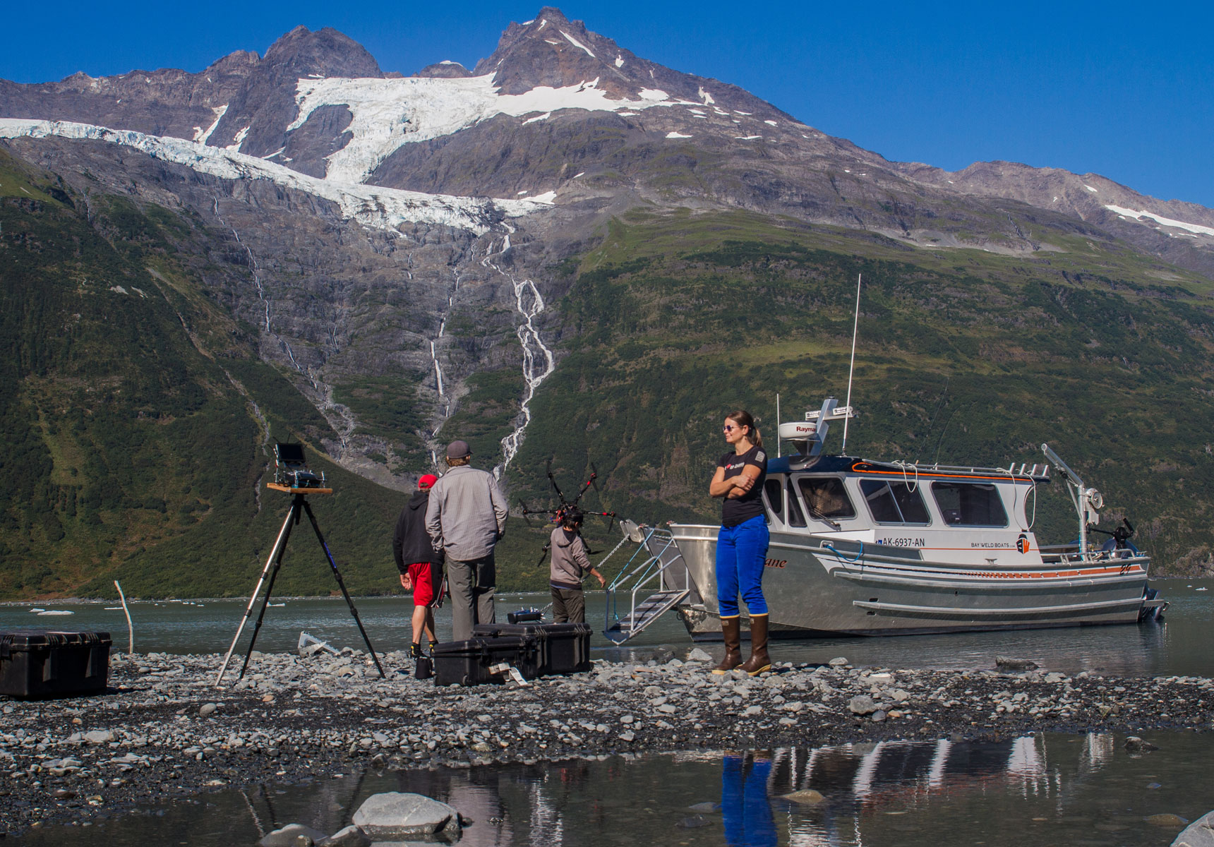 Tidewater Taxi has a wealth of local knowledge to assist in AK production services